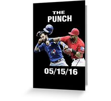 the punch texas Greeting Card