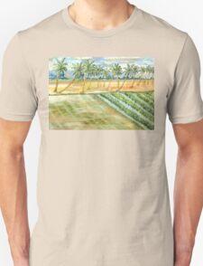 Monsoon at Field View - Kerala Unisex T-Shirt