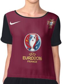 Euro 2016 Football - Portugal Chiffon Top