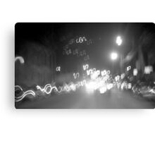 Night Rush Canvas Print