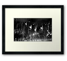 Ghost or Time Warp? Framed Print