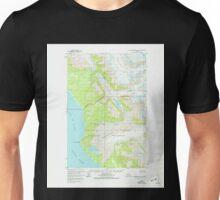 USGS TOPO Map Alaska AK Mount Fairweather D-6 357614 1961 63360 Unisex T-Shirt