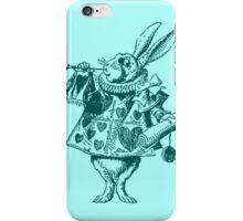 Rabbit stamp from Alice in Wonderland iPhone Case/Skin