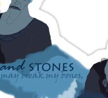 Styx and Stones Sticker