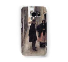 Vintage Fine Art - John Singer Sargent 1880 Samsung Galaxy Case/Skin