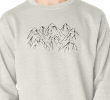 Canadian Maple Leaf Mountains Pullover