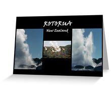 Rotorua II Greeting Card