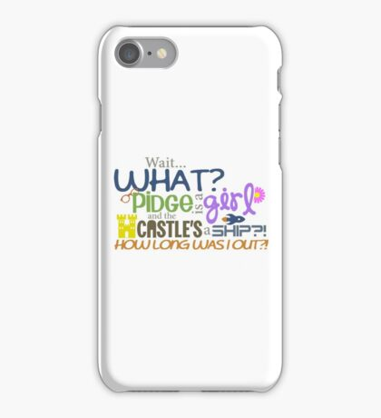 Voltron - Pidge is a girl?! iPhone Case/Skin