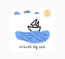 Travel by sea  Unisex T-Shirt