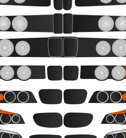 BMW 5 series evolution Sticker