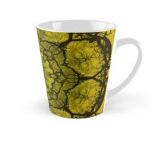 Yellow kaleidoscope Tall Mug