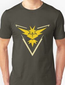 Pokemon Go - Team Instinct (no text) Unisex T-Shirt