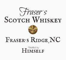 Outlander /Scotch Whiskey/Fraser's Ridge Kids Tee