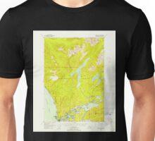USGS TOPO Map Alaska AK Sitka C-2 359126 1948 63360 Unisex T-Shirt