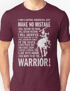 I AM A NATIVE AMERICAN Unisex T-Shirt
