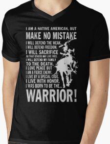 I AM A NATIVE AMERICAN Mens V-Neck T-Shirt