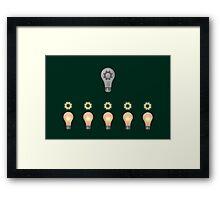 Teamwork concept Framed Print