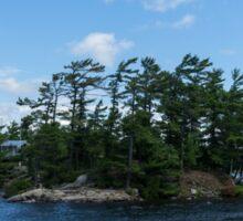 Private Island - a Villa on Georgian Bay, Lake Huron Sticker