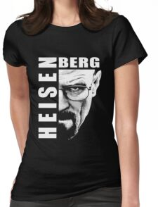 Heisenberg Black n White Womens Fitted T-Shirt