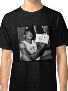 Kobe Bryant - 81 points Classic T-Shirt
