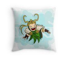 God of Mischief Throw Pillow