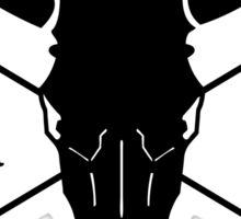 ItsRDtime white logo Sticker