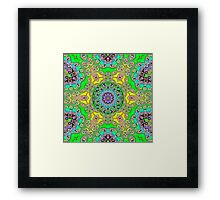 geometric  abstract shapes Framed Print