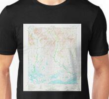 USGS TOPO Map Alaska AK Solomon C-6 359310 1950 63360 Unisex T-Shirt