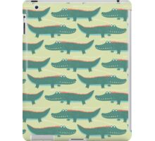Tropical Jungle - Crocodile iPad Case/Skin