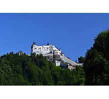 Hohenwerfen Castle Austria Photographic Print