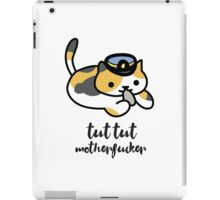 Tut tut motherfucker iPad Case/Skin
