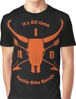 ItsRDtime Orange logo Graphic T-Shirt