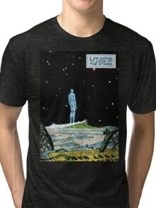 Stars over Manhattan Tri-blend T-Shirt