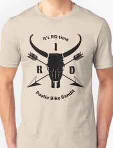 ItsRDtime Black logo Unisex T-Shirt