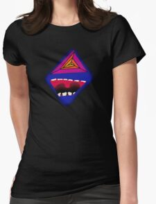 The Laugh Psychedelic Womens Fitted T-Shirt