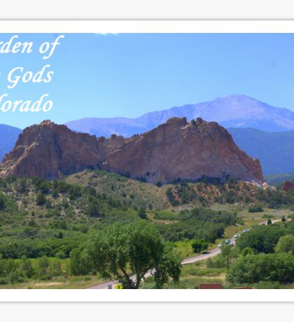 Garden of the Gods #6 Sticker