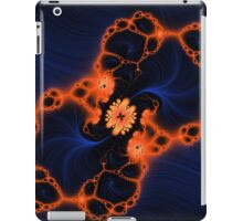 When Orange Meets Blue iPad Case/Skin
