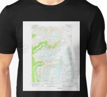 USGS TOPO Map Alaska AK Sumdum B-3 359373 1961 63360 Unisex T-Shirt