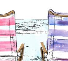 Deck chairs  Sticker