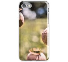 Poppy Seed Heads iPhone Case/Skin