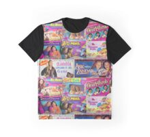 Nostalgic Board Game Mania Graphic T-Shirt