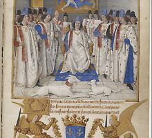 Coronation of King Louis XI of France by PattyG4Life