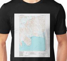 USGS TOPO Map Alaska AK Stepovak Bay D-6 359345 1963 63360 Unisex T-Shirt