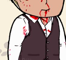 Tiny Bloody Hannibal in Italy Sticker