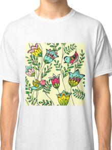Cute Colorful Birds Classic T-Shirt