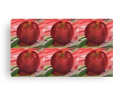 Apple Warhol Canvas Print
