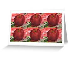 Apple Warhol Greeting Card