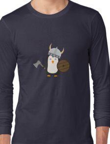 Penguin Viking   Long Sleeve T-Shirt