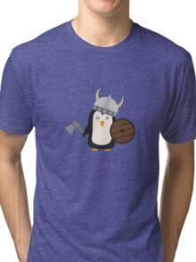 Penguin Viking   Tri-blend T-Shirt