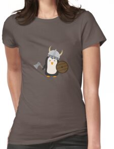 Penguin Viking   Womens Fitted T-Shirt